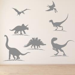 NJ3033 sienų lipdukas Dinozaurai