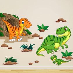 NJ3311 sienų lipdukas Dinozaurai