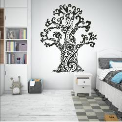 Vaikiškas sienų lipdukas Medis