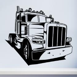 Sienų lipdukas Sunkvežimis