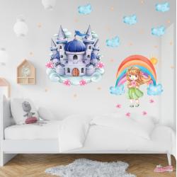 NJ3418 sienų lipdukas Mažoji princesė