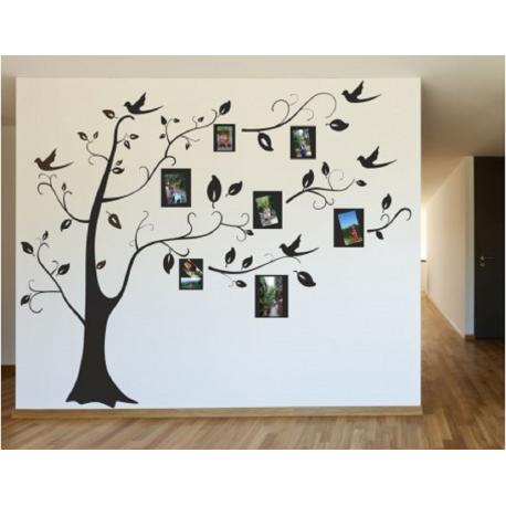 Vaikiškas sienų lipdukas Medis su rėmeliais