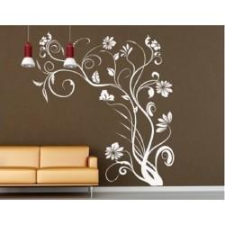 131 Sienų lipdukas Gėlės