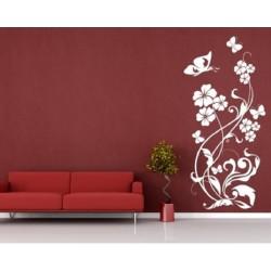 222 Sienų lipdukas Gėlės
