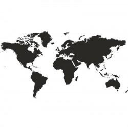 Vaikiškas sienų lipdukas Pasaulio žemėlapis11