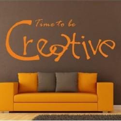 Sienų lipdukas Būkim kūrybingi