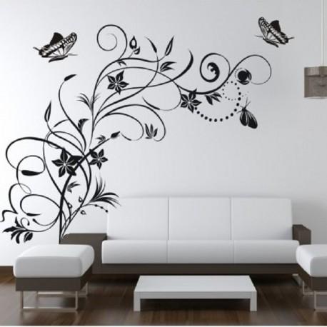 116 Sienų lipdukas Gėlės