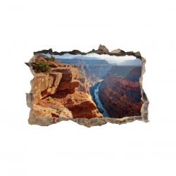 297 sienų lipdukas 3D Kalnai