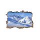 Vaikiškas sienų lipdukas 3D Kalnai