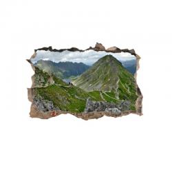 347 sienų lipdukas 3D Kalnai
