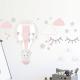 7069 sienų lipdukas Oro balionas