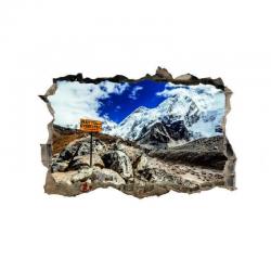 338 sienų lipdukas 3D Kalnai
