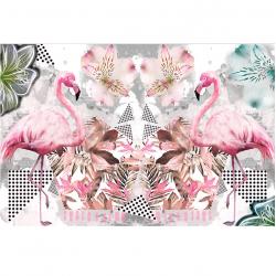 Fototapetas Rožiniai flamingai