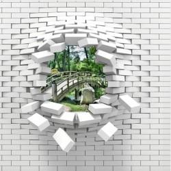 Fototapetas 3D Tiltas