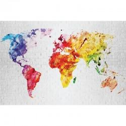 Fototapetas Pasaulio žemėlapis9
