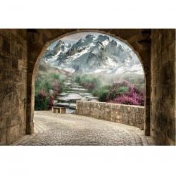Fototapetas Kalnų kelias