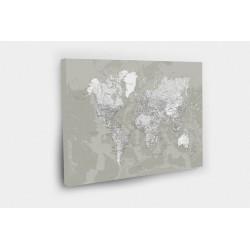 Kelionių žemėlapis su smeigtukais SENDINTAS