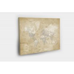 Kelionių žemėlapis su smeigtukais Antikos