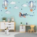 Oro balionai, kalnai